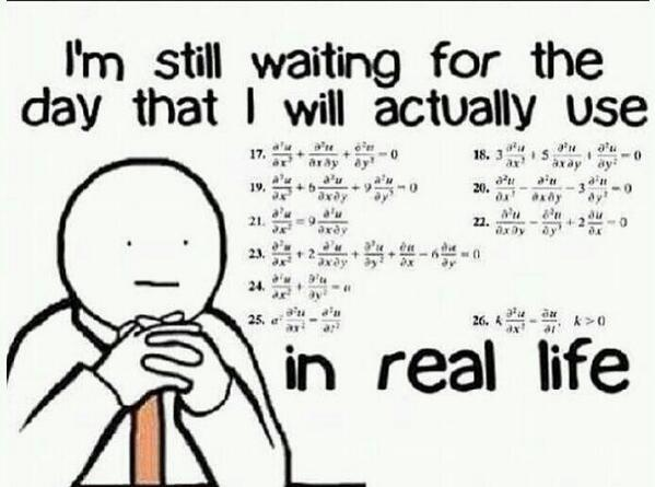 Why do I have to learn math?