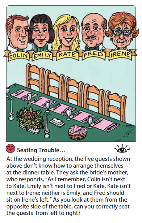 Seating Trouble