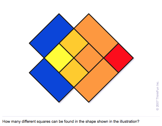 Counting the Squares