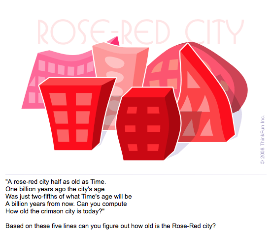 How Old is the Rose-Red City