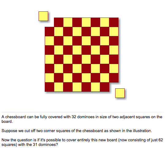 The Mutilated Chessboard