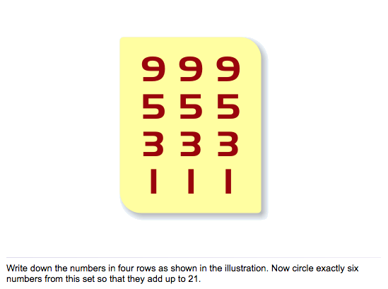 Six Numbers