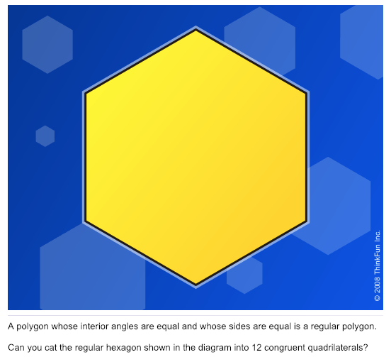 Twelve Parts of the Hexagon