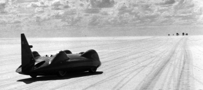 The Bluebird, one of the fastest cars on earth