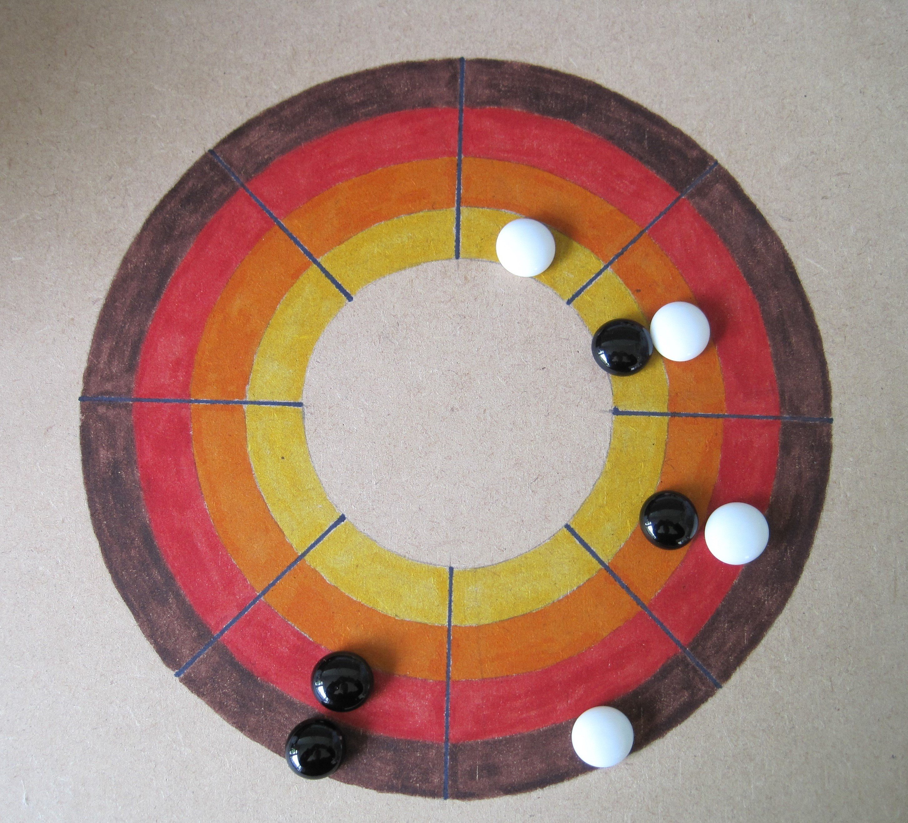 Four in a row games - board 2