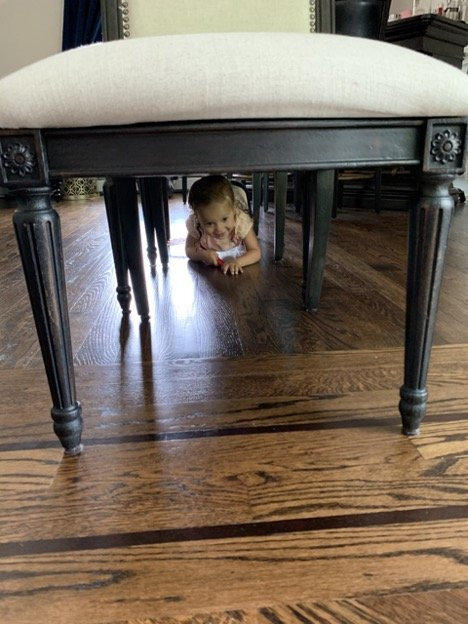 Indoor Obstacle Course - Under Chair