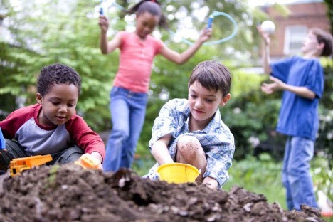 Kids in Dirt - Teach kids about the environment