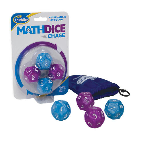 Math-Dice-Chase-Play to Learn Multiplication Facts