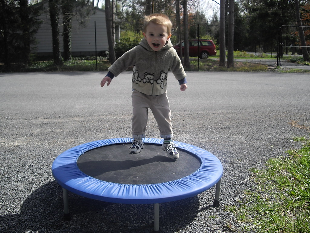 Trampoline for Heavy Work